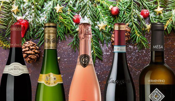 Viner till julbordet