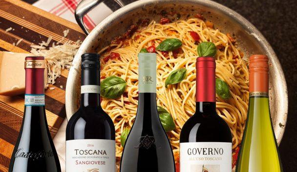 Bästa vinet till pizza och pasta