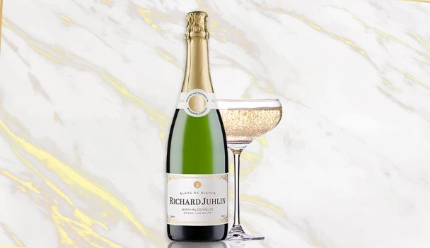 ichard Juhlin Blanc de Blancs Non-Alcoholic Sparkling White