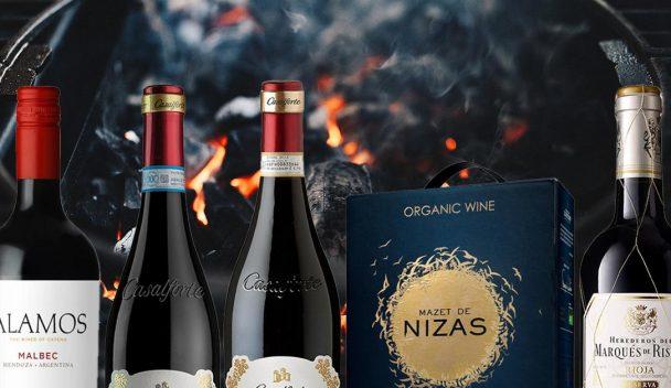 Röda viner till grillat